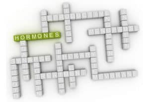 3d-image-Hormones-issues-word-cloud-background