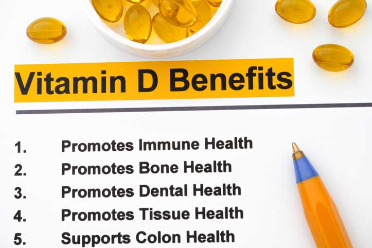Vitamin D is crucial for immune health