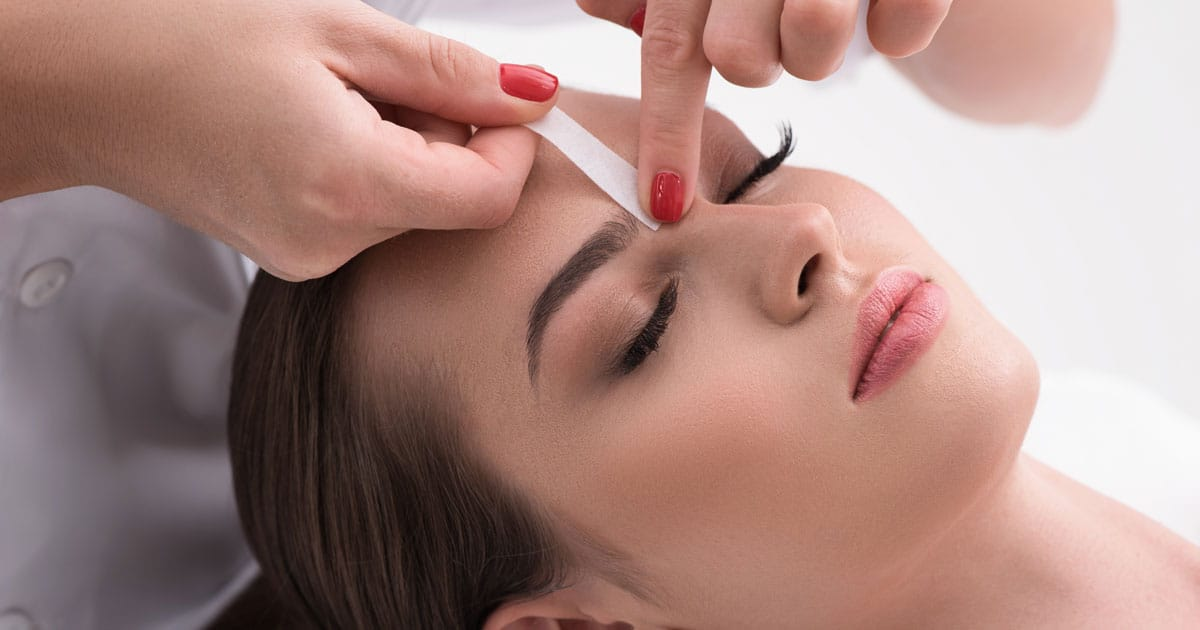 Eyebrow Waxing Service Renew Health And Wellness